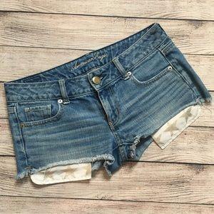 American Eagle Star Pocket Shorts